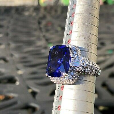 $120 • Buy Charles Winston For Bella Luce Simulated Sapphire & White CZ 19.00 Ctw Ring