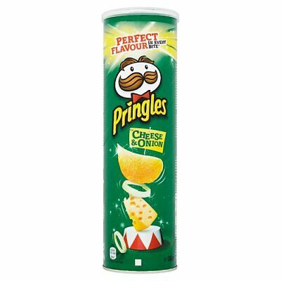 Pringles Cheese And & Onion Flavour 200g *potato* *chips *crisps* *snack* *new* • 3.90£
