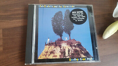 Elvis Costello And The Attractions Goodbye Cruel World CD • 4.99£