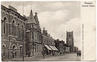 P.C Town Hall And Church Market Place Heanor Derby Derbyshire Good Cond P U 1905 • 4.99£