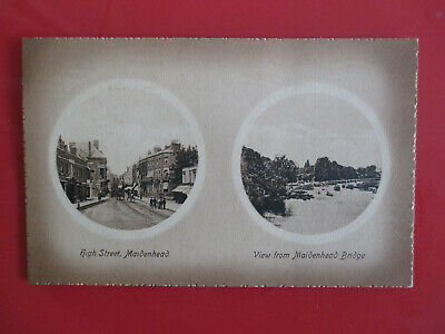 Early Maidenhead Berks Multi View Postcard. Unposted Valentine's Series. • 1.50£