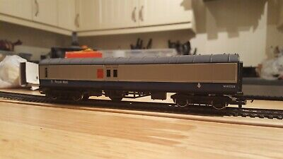 Hornby 00 Gauge R416 Royal Mail Travelling Post Office Coach M80328 Blue/Grey  • 25£