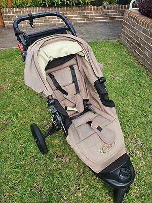 AU125 • Buy Baby Jogger City Elite Pram As New. With Travel Bag And Accessories