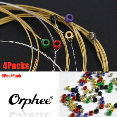 $ CDN22.02 • Buy Orphee TX620 Acoustic Folk Guitar Strings 6P/Set (.010-.047) Extra Light O8B5