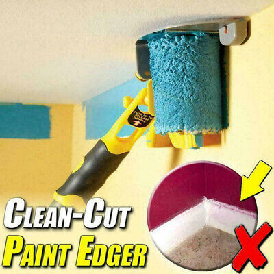 £15.97 • Buy Paint Roller Por Set Clean-Cut Paint Edger Brush Safe Tool For Home Wall UK