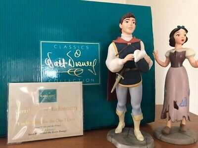 WALT DISNEY CLASSICS COLLECTION WDCC White AND THE PRINCE Snow White Figures • 160£