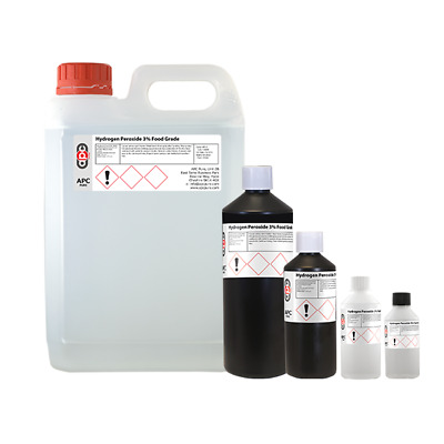 £7.90 • Buy Hydrogen Peroxide 3%, 6%, 9%, 12% All Sizes - Shipped Same Day