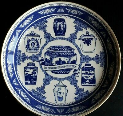 Ringtons Collectors Plate The Decorative Caddy Collection, Good Condition • 1.10£