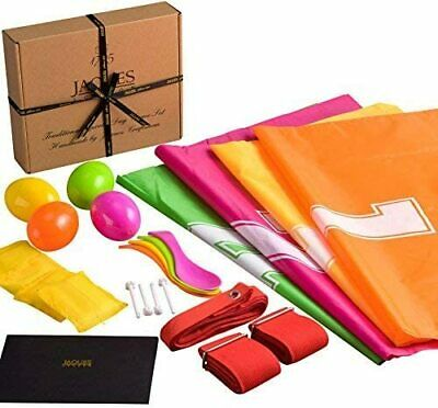 £14.99 • Buy Sports Day Kit - PERFECT For Sports Day Games, Includes Sack Race, Egg And Spoon