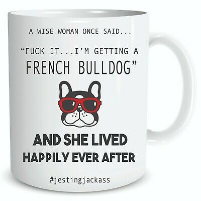 French Bulldog Gift Coffee Mug Tea Cup Frenchie Gift Dog Mum Dad Doggy Pup M227 • 9.99£