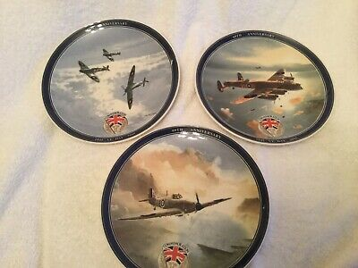 3 Comerative Plates  For Ve Day  • 20£