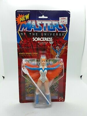 $499 • Buy 1986 Masters Of The Universe Sorceress Action Figure New Vintage Mattel A3