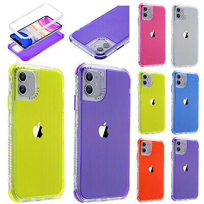 AU10.99 • Buy For IPhone 12 11 Pro Max 12Mini 8 7 6s SE2nd Shockproof Hybrid Bumper Case Cover
