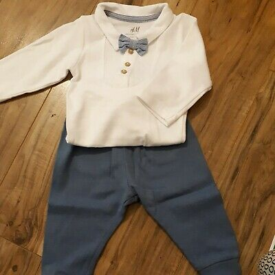 Babies Dickie Bow Tie Outfit • 4.10£