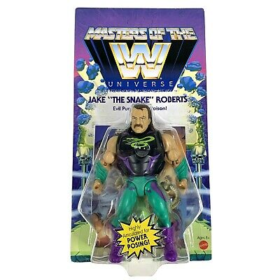 $31.49 • Buy Mattel Masters Of The WWE Universe: Jake  The Snake  Roberts Wave 4 - UNPUNCHED