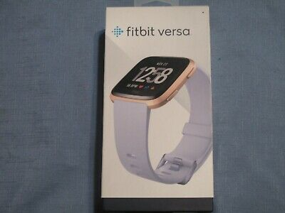 $ CDN160.37 • Buy New Fitbit Versa Smartwatch Periwinkle/Rose Gold Aluminum, One Size -S & L Bands