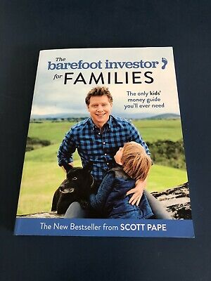 AU10 • Buy The Barefoot Investor For Families Paperback Step-by-Step Plan By Scott  Pape