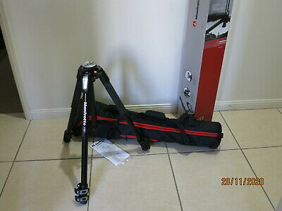 AU320 • Buy AS NEW Manfrotto MT190XPRO3 Tripod + Full Size Carry Case
