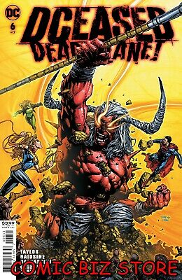 Dceased Dead Planet #6 (2020) 1st Printing Finch Main Cover Dc Comics • 3.65£