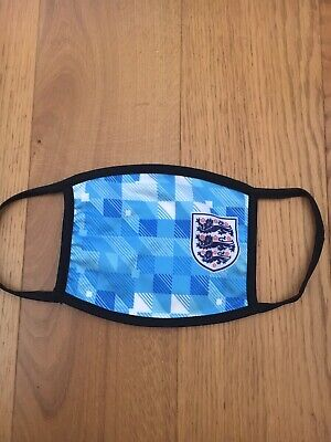 England Fc Football Face Mask Face Mask 2 Ply Washable And Re-usable • 5.49£