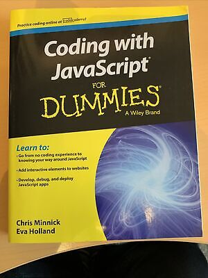 Coding With JavaScript ISBN 9781119056072 • 3£