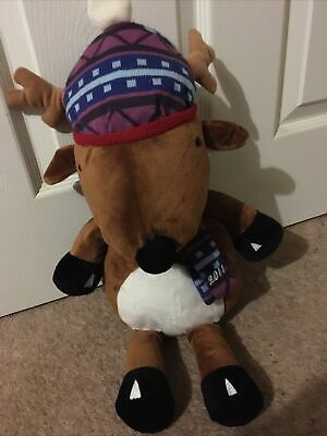 £8 • Buy CHILLY And Friends Large Reindeer Soft Plush Toy 2011 17  VGC