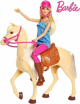 £31.29 • Buy Barbie Doll And Horse Blonde