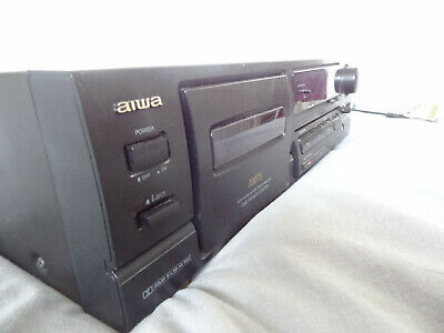 Faulty Used Aiwa AD-F450 Cassette Deck [Spares Or Repair] Cardiff Collection • 4.99£