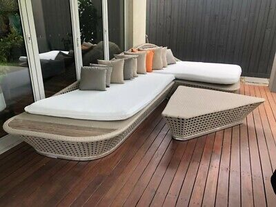 AU350 • Buy Higold Outdoor 4-piece Setting Includes All Cushions, Great Condition