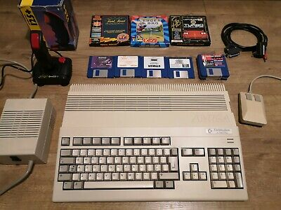 Commodore Amiga 500 + Plus Bundle Excellent Condition Fully Working • 225£