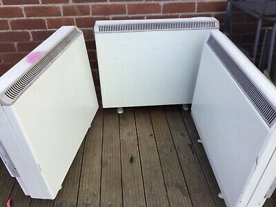 Night Storage Heaters X 3 • 15.40£