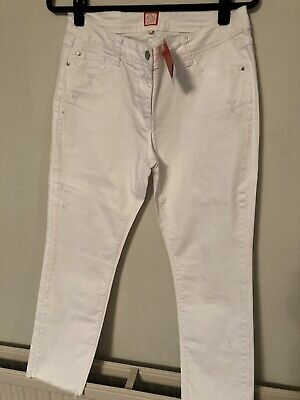 Miss Captain Tortue White Jeans • 5£