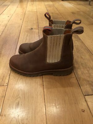 Penelope Chilvers Tan Ankle Boots 38/Size 5 • 72£