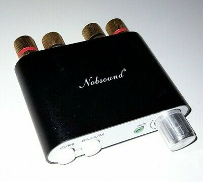 Nobsound NS-10G Wireless Bluetooth 50w 2 Channel Mini Amplifier • 9.90£