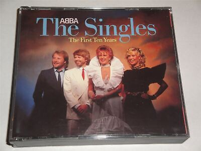 Abba - The Singles - RARE Silver Face POLAR Issue 2 X CD Fatbox West Germany • 14.99£