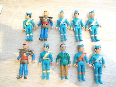 Thunderbirds 10 Figures Matchbox Dolls  • 9£