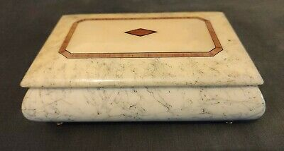 Vintage Reuge Swiss Musical Box Made In Italy Song: Fur Elise, Beethoven • 125£