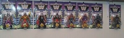 $235 • Buy Masters Of The WWE Universe Wave 1 & 2 Ultimate Warrior Sting HHH Macho Cena New