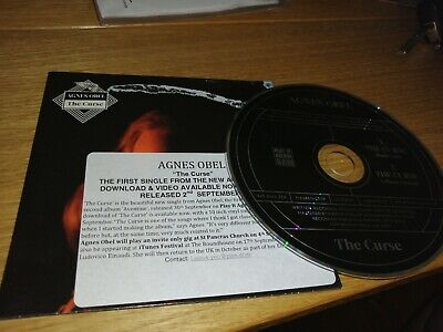 Agnes Obel The Curse Great Condition Promo  Cd  • 3.20£