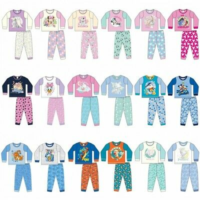 £5.95 • Buy Baby Boys Girls Officially Licensed Character Pyjamas Pajamas Disney 6-24 Months