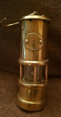 Vintage Brass Miners Davy Style Lamp Hockley Lamp & Limelight Company.  • 5.30£