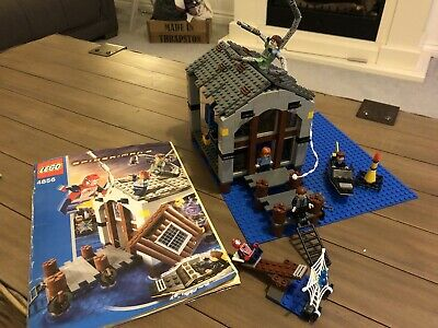 Lego Spider-Man 4856 Doc Ocks Hideout 100% Complete With Instructions & Stickers • 3.24£