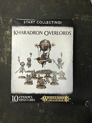 AU123.29 • Buy Warhammer Age Of Sigmar Start Collecting Kharadron Overlords (NIB)