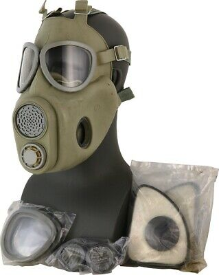 $37.56 • Buy  Premium Gas Mask Full Face Projective NBC Respirator Czech Military M10