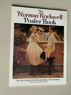 $ CDN25.94 • Buy Vtg 1976 Norman Rockwell Poster Book **20 Prints Frameable**