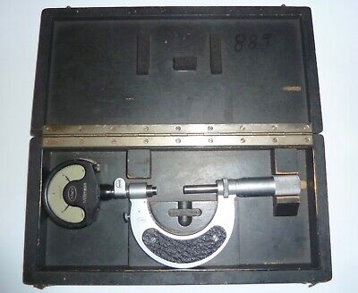 $275 • Buy Nice Mahr 1  - 2  Indicating Micrometer In Factory Box Accurate To 0.0001