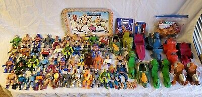 $152.50 • Buy Masters Of The Universe Large Vintage Lot Of Figures, Vehicles, Weapons, Accs.