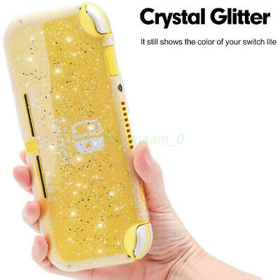 AU16.92 • Buy Glitter Clear Silicone Case Transparent Protective Cover For NS Switch Lite AU