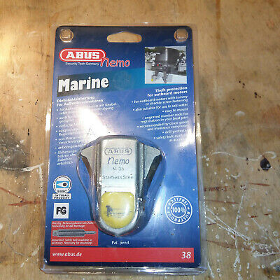 Outboard Motor Lock By Abus. New In Original Packaging • 0.99£