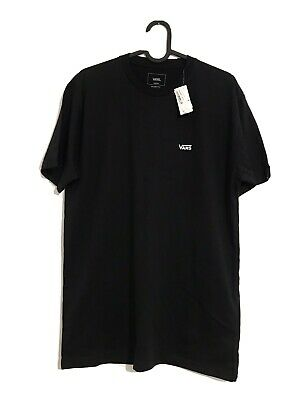 VANS Off The Wall Classic T-Shirt Mens - Size M - Black - Brand New • 10£